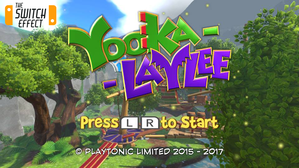 Yooka Laylee Nintendo Switch
