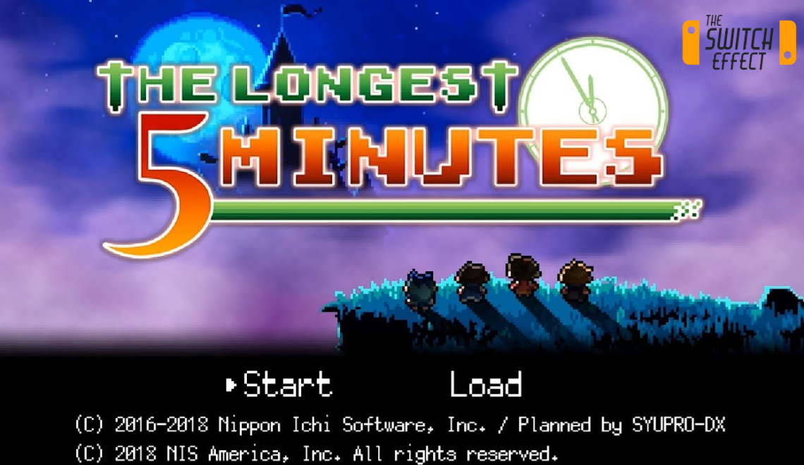 Longest Five Minutes Nintendo Switch