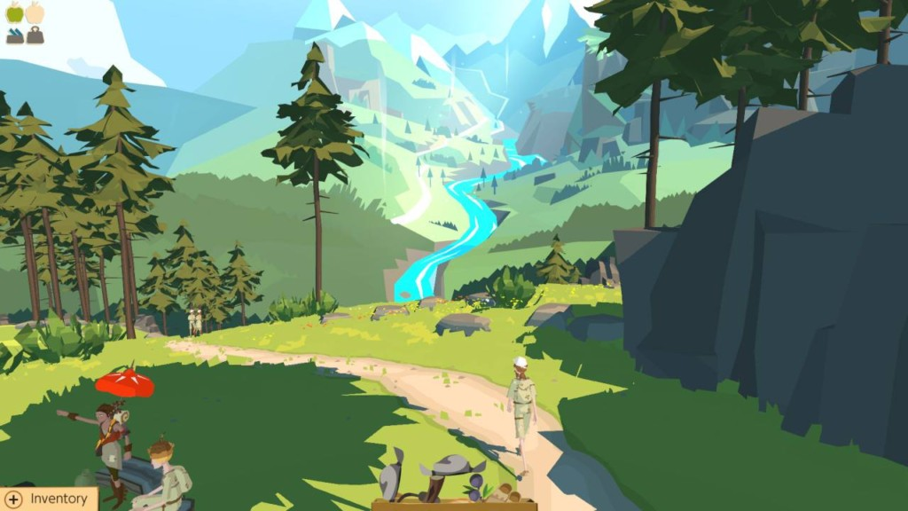 The Trail Frontier Challenge Nintendo Switch