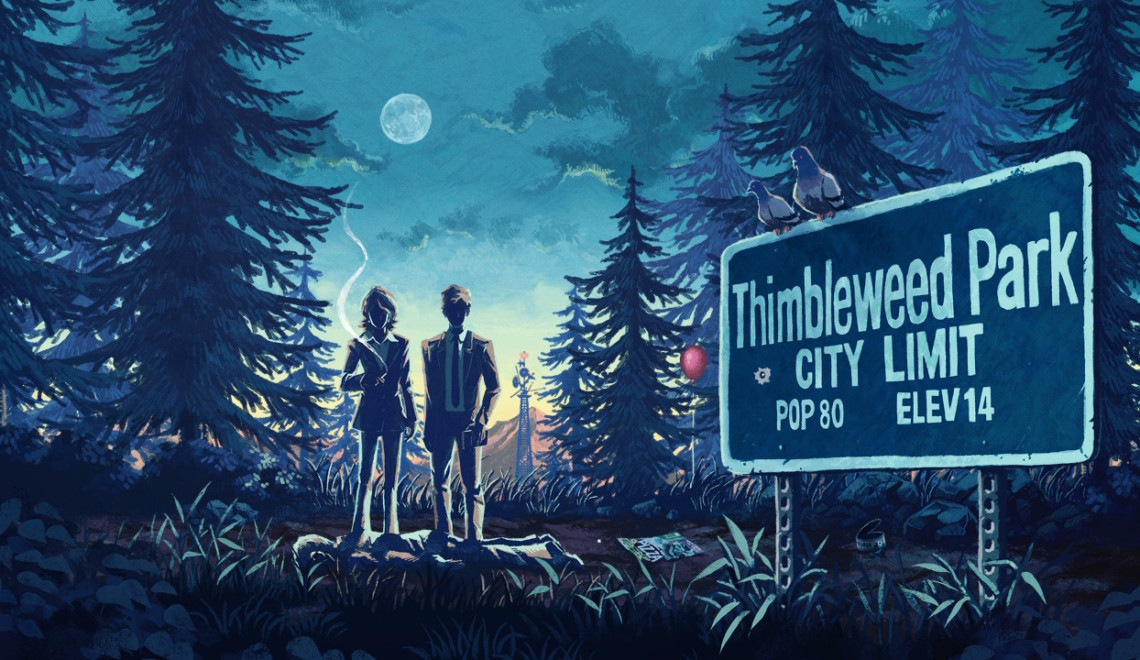 [Review] Thimbleweed Park – Nintendo Switch
