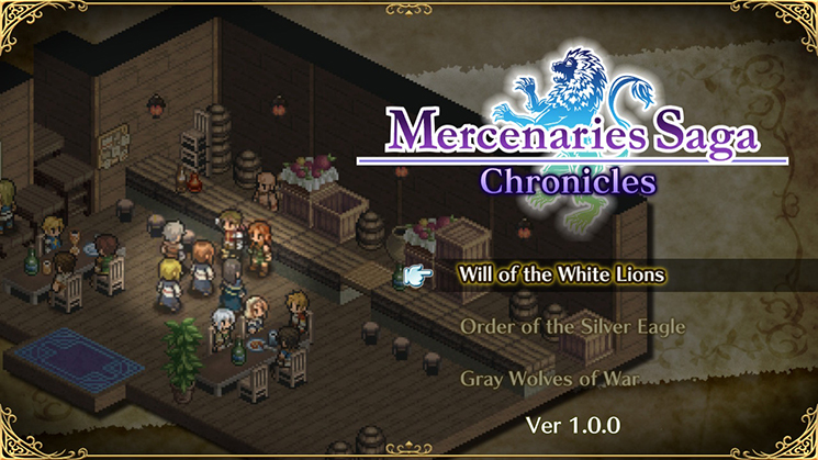 [Review] Mercenaries Saga Chronicles – Nintendo Switch