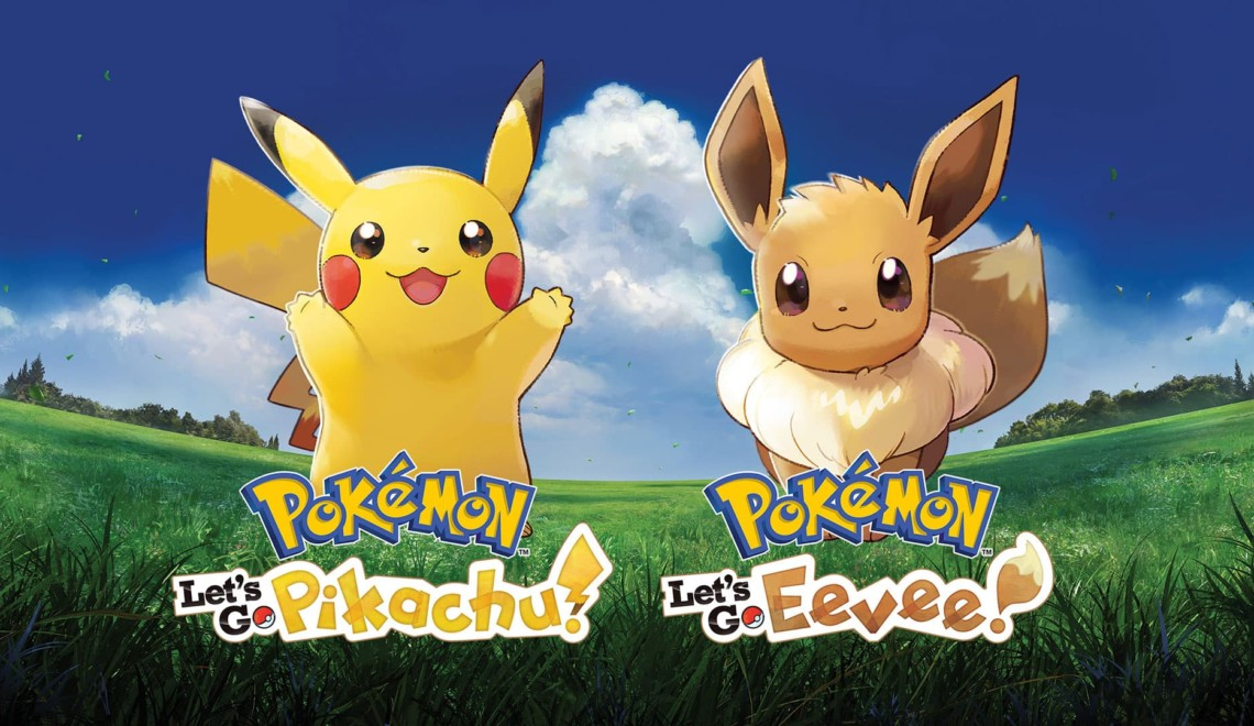[News] Eevee and Pikachu say Let's Go! to Nintendo Switch