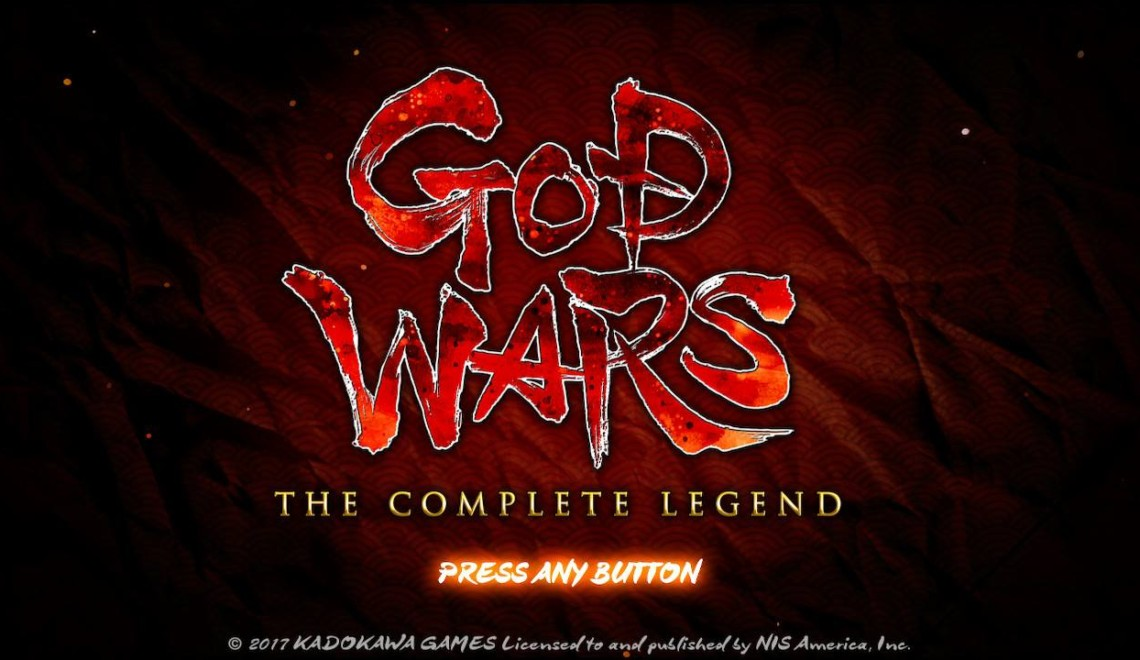 [Review] God Wars – The Complete Legend (Nintendo Switch)