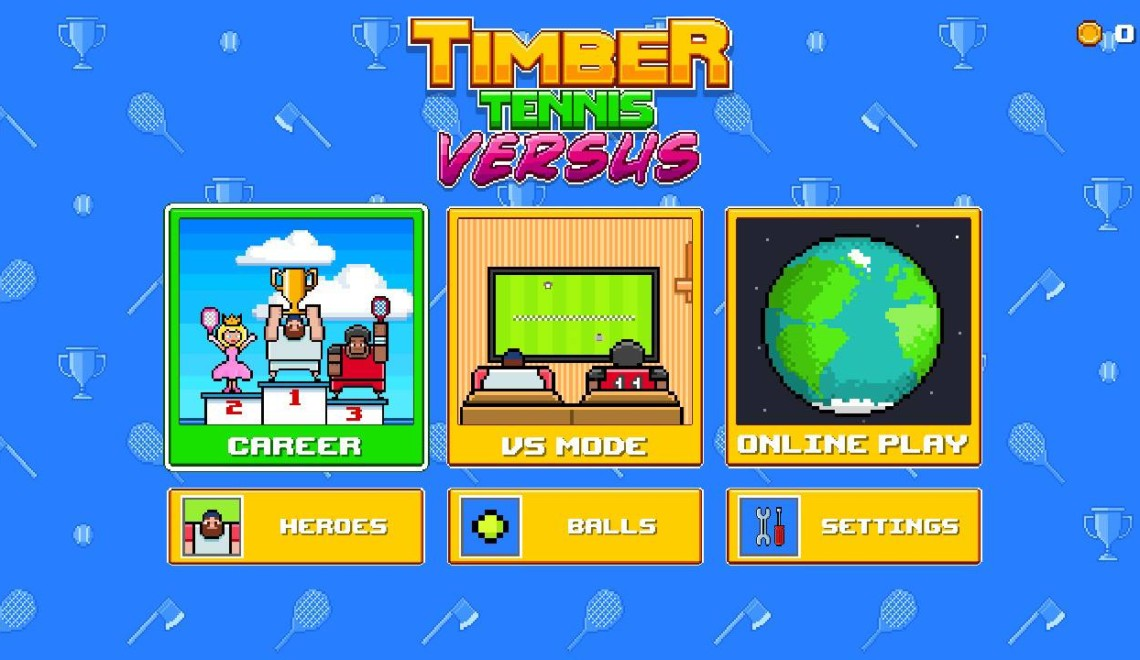 [Review] Timber Tennis Versus – Nintendo Switch