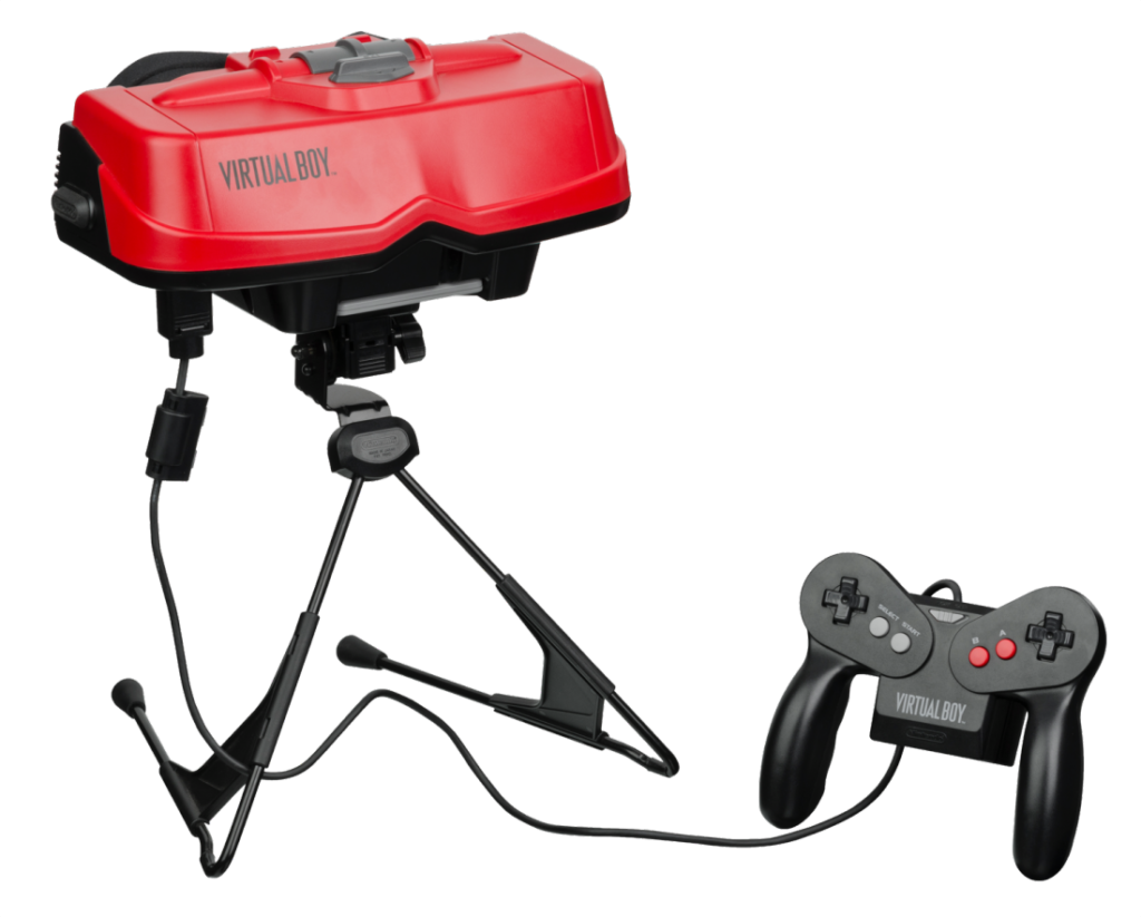 Nintendo's Virtual Boy launched in 1995