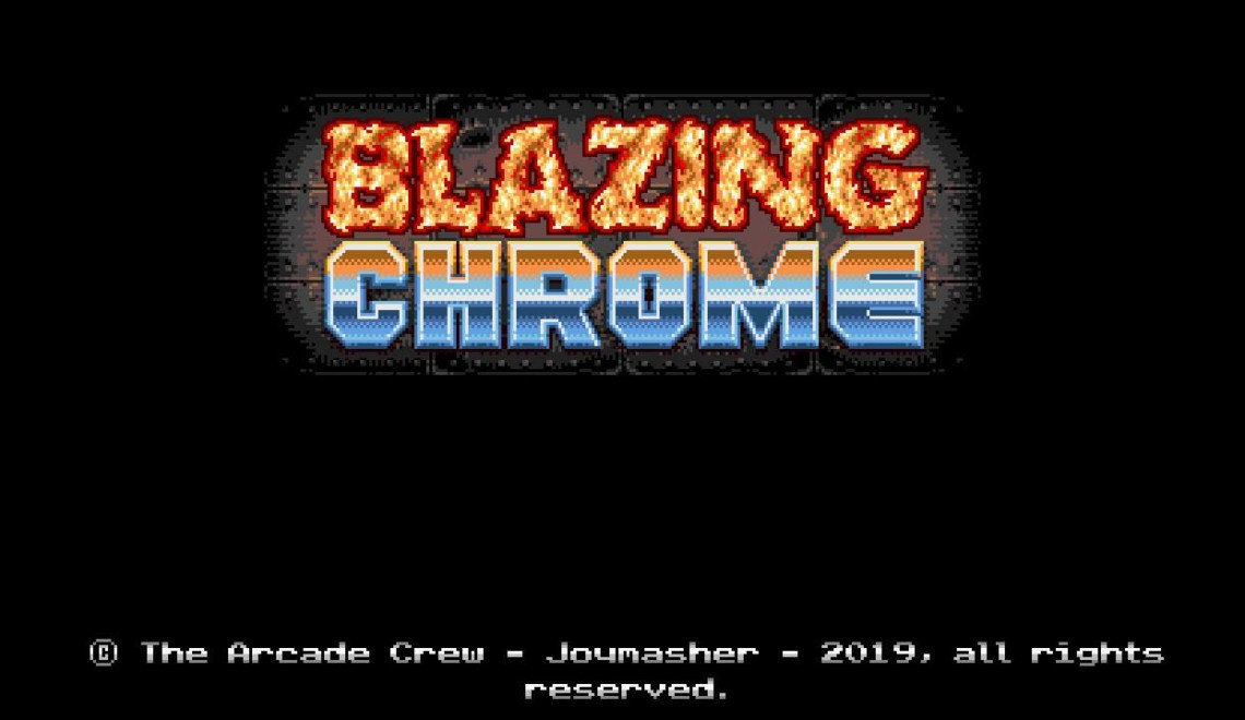 [Review] Blazing Chrome – Nintendo Switch