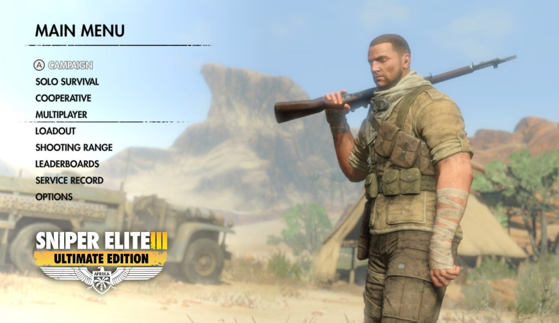 [Review] Sniper Elite III : Ultimate Edition – Nintendo Switch