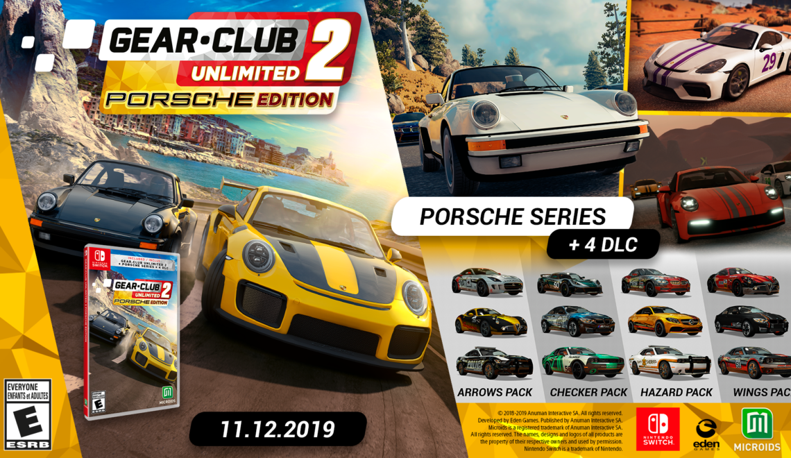 [Review] Gear Club Unlimited 2 Porsche Edition