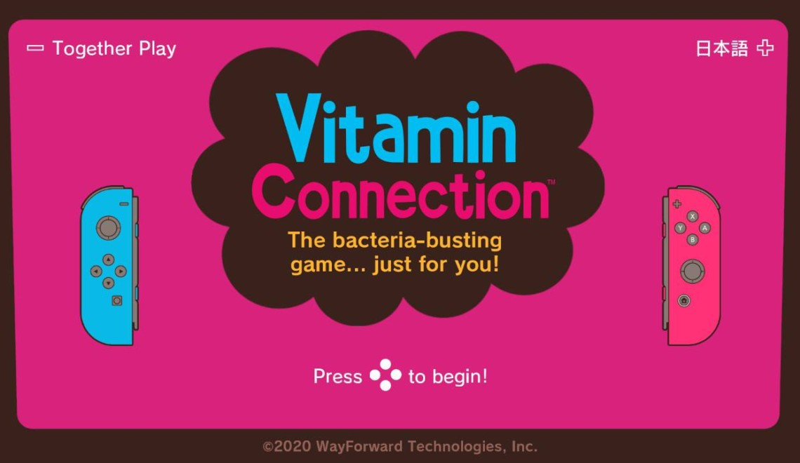 [Review] Vitamin Connection – Nintendo Switch