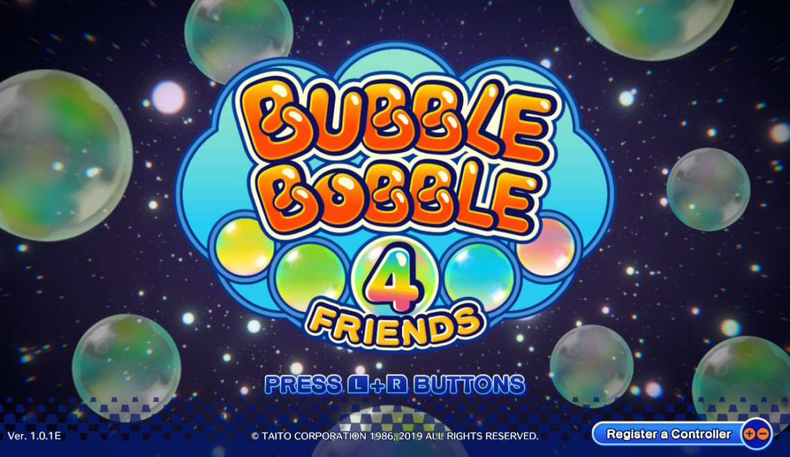 [Review] Bubble Bobble 4 Friends – Nintendo Switch