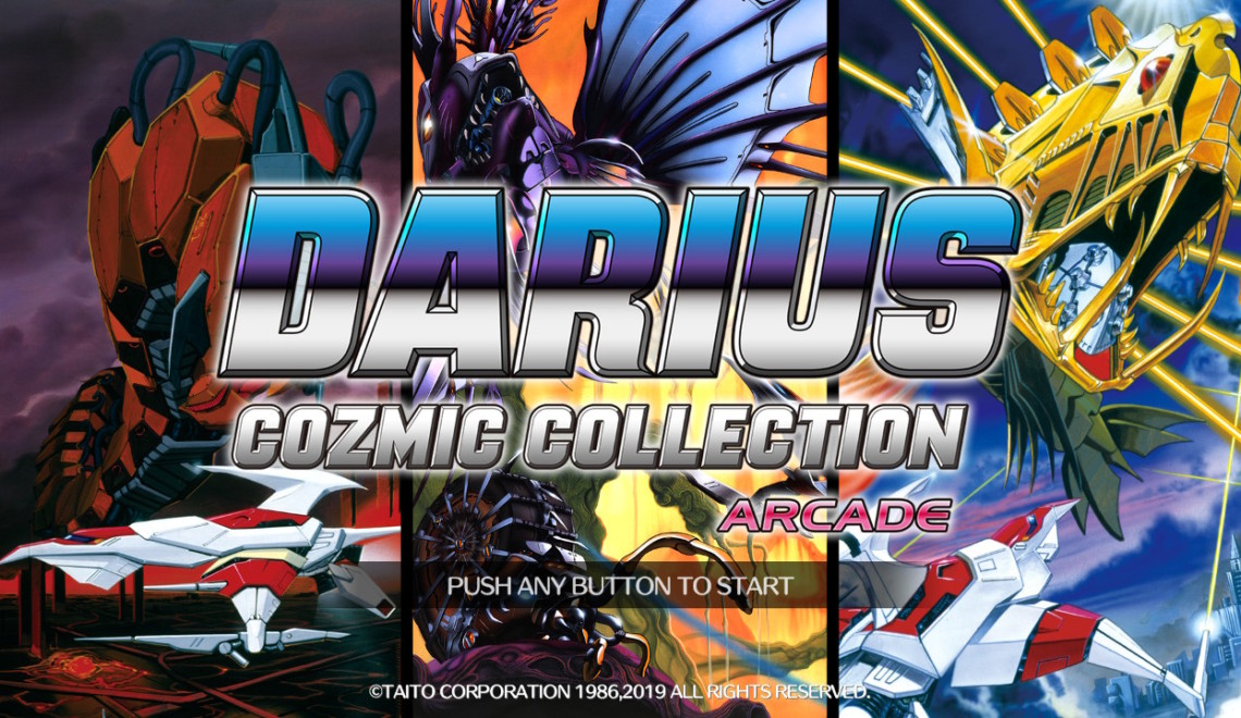 [Review] Darius Cozmic Collection Arcade Edition – Nintendo Switch