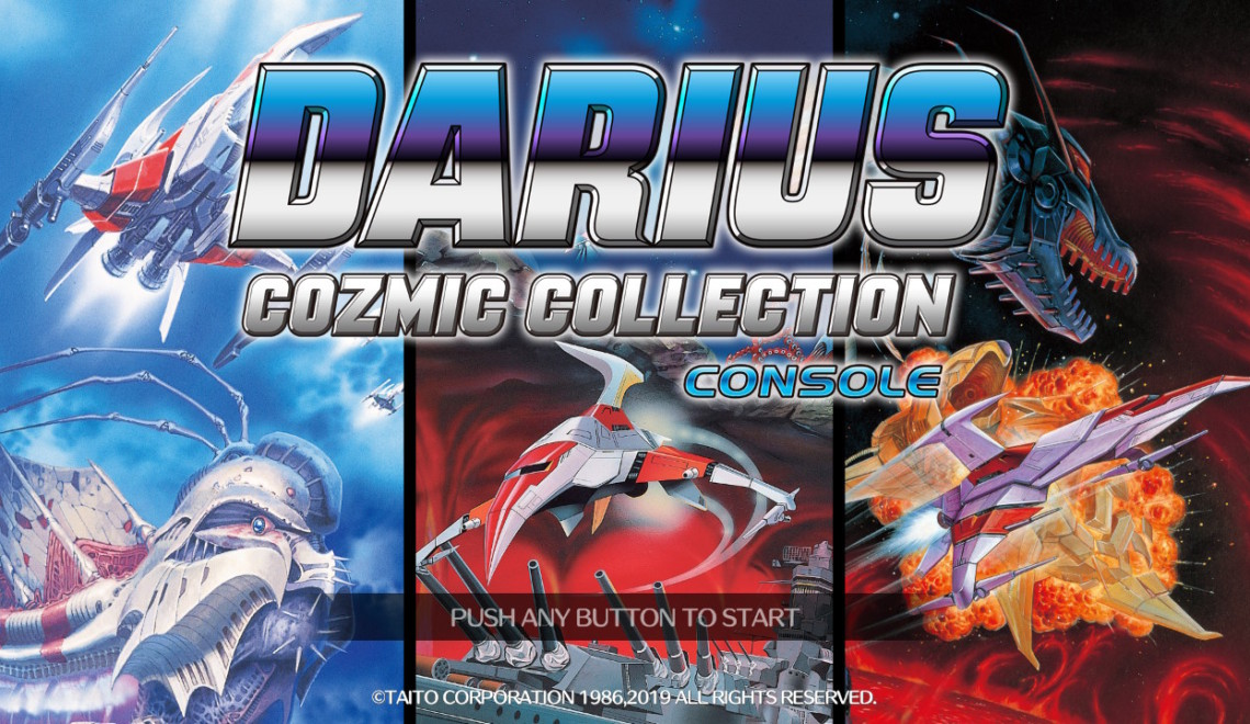 [Review] Darius Cozmic Collection Console Edition – Nintendo Switch