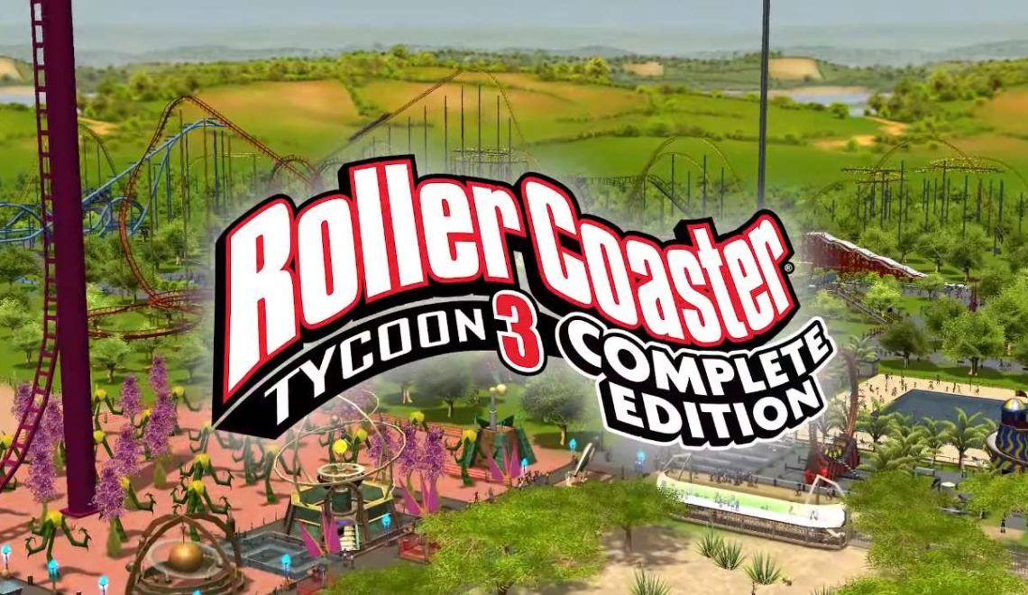 [Review] RollerCoaster Tycoon 3 Complete Edition