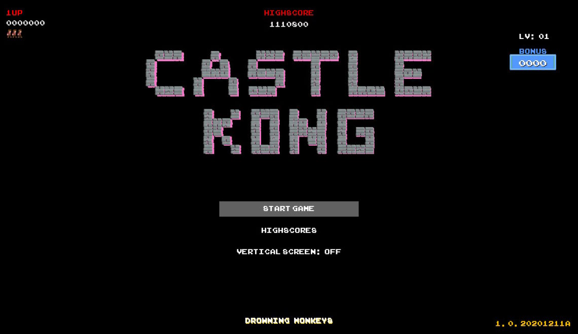 [Review] Castle Kong – Nintendo Switch